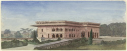 The Palace, Dig, Bharatpur (Rajputana). 5 December 1868
